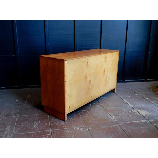 Mid Century Wooden Cabinet For Sale - Image 4 of 9