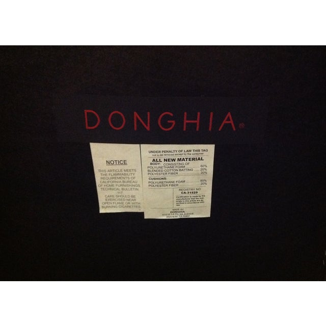 Donghia Panama Occasional Chairs - A Pair For Sale - Image 11 of 11