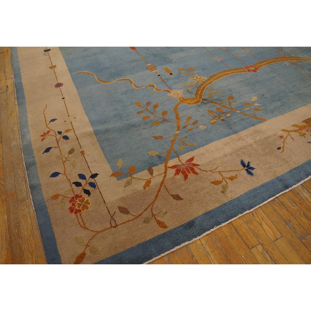 """1920s Antique Chinese Art Deco Rug 12'0"""" X17'6"""" For Sale - Image 5 of 9"""