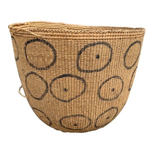 20th Century Tribal Yanomami Gathering Basket Preview