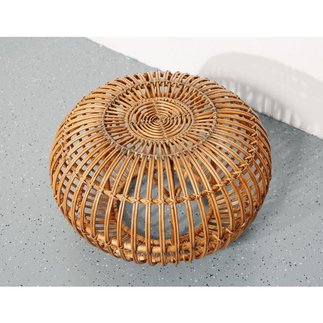 Mid Century Franco Albini Ottoman/Pouf/Side Table For Sale In New York - Image 6 of 6
