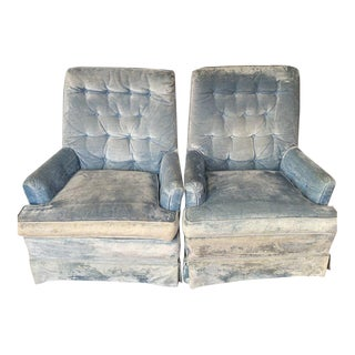 1950s Antique Arm Chairs - a Pair For Sale