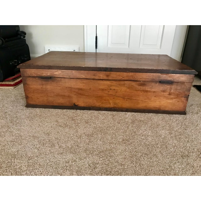 Excellent antique condition. Beautiful wood that's been lovingly cared for. Absolutely no musty old odor. Great as a...