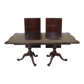 Henkel Harris Mahogany Dining Table For Sale