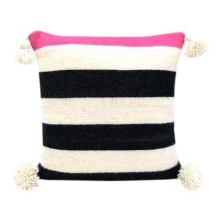 Pink Moroccan Wool Pillow