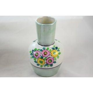 Celadon Green Luster Japanese Vase Preview