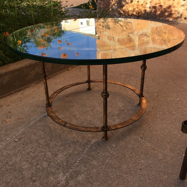 Spanish Gilt Iron Side Tables - Set of 2 For Sale - Image 4 of 13