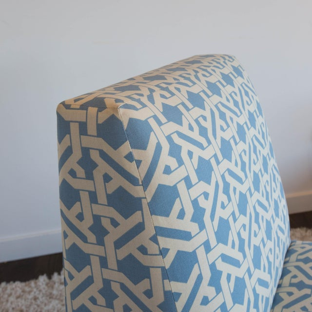 Pair of Modern Slipper Chairs - Image 5 of 6