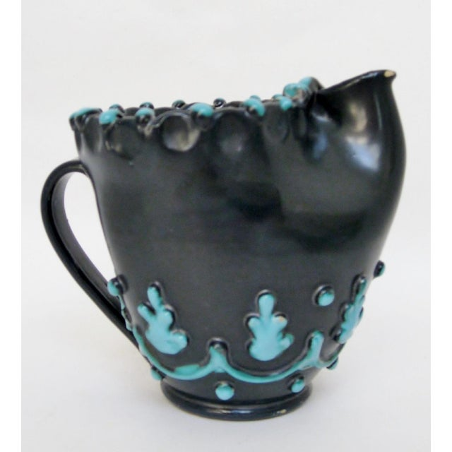 1950s Italian Ceramic Pitcher For Sale - Image 5 of 8