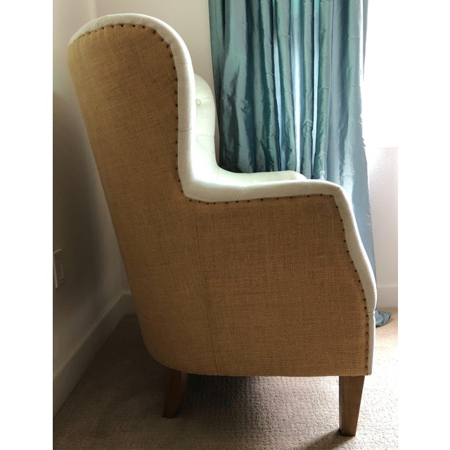 Tufted Arm Chair For Sale - Image 4 of 9