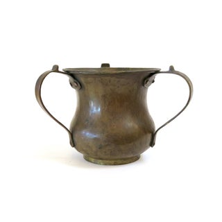 Copper 3-Handled Vessel For Sale