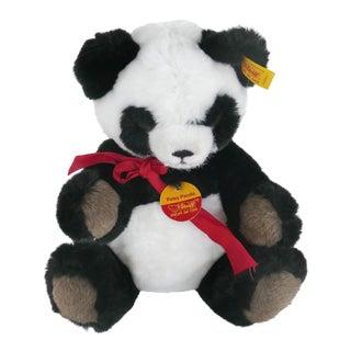 1970s Steiff Petsy Panda Bear Unused, Germany For Sale