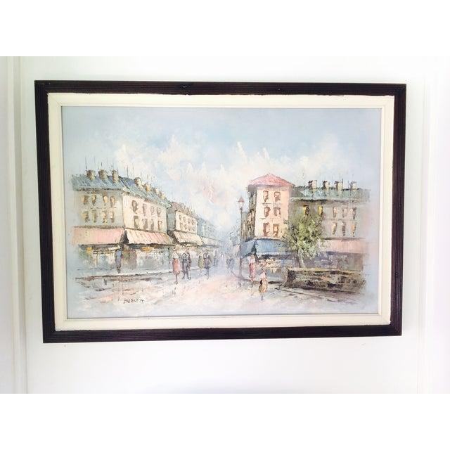 Caroline Burnett Street of Paris Oil Painting - Image 7 of 7