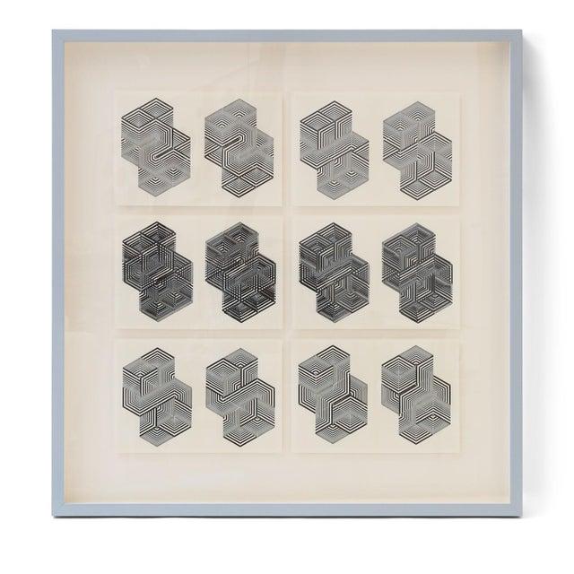 Original letterpress prints by Dieter Roth/Diter Rot (1930-1998). From Gesammelte Werke, Vol 04 Bok 4a und bok 5, Edition...