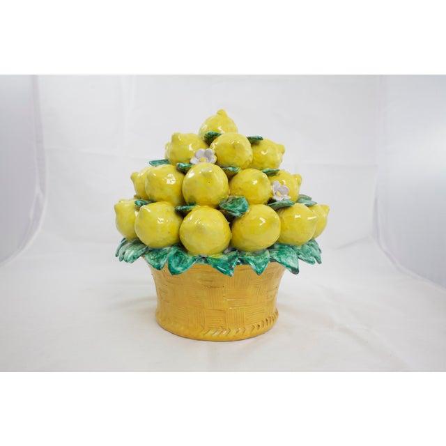 Italian Italian Terracotta Lemon Topiary For Sale - Image 3 of 9
