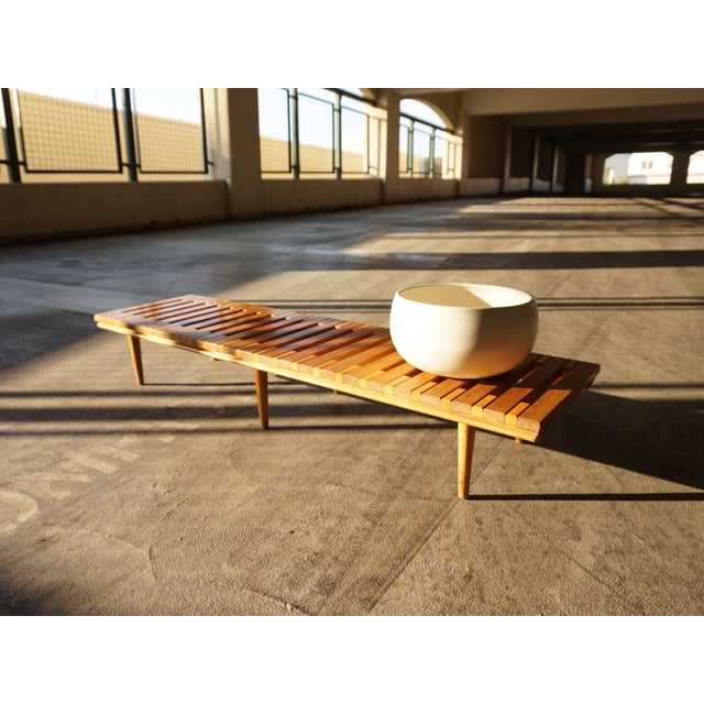 John Keal for Brown Saltman Low Bench Table - Image 2 of 6