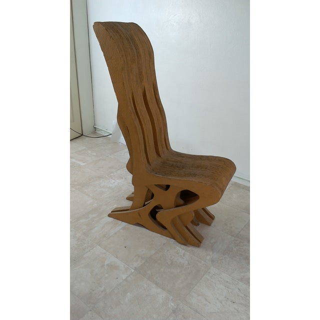 Vintage Cardboard Chair, 1970s For Sale - Image 11 of 11