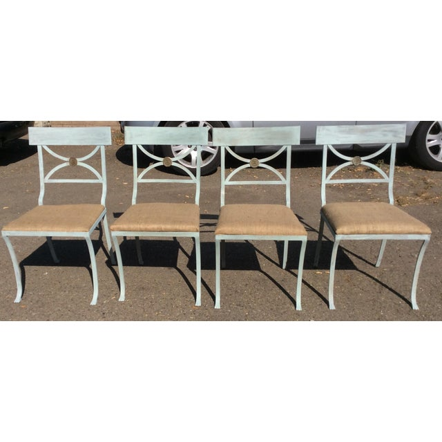 Empire French Empire Chairs - Set of 4 For Sale - Image 3 of 11