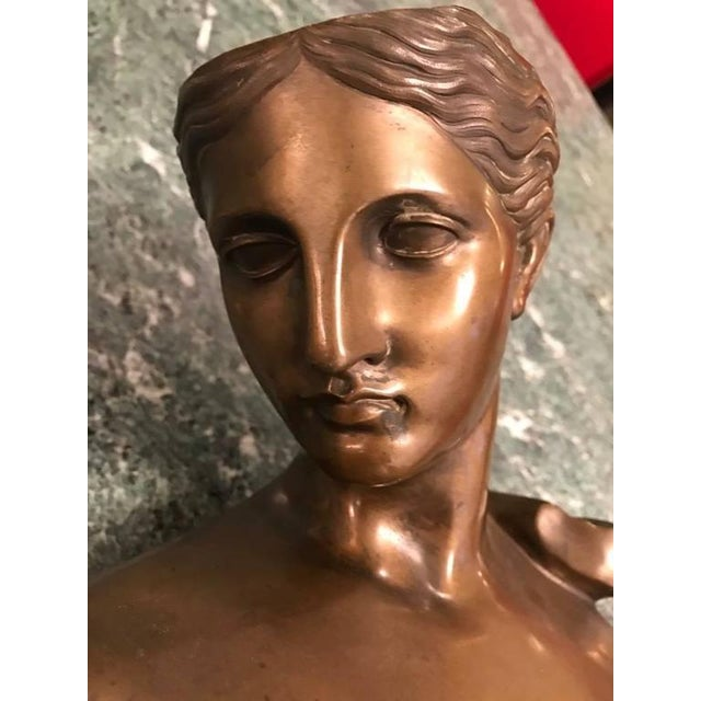 Roman Style Continental Bronze Sculpture For Sale - Image 9 of 9