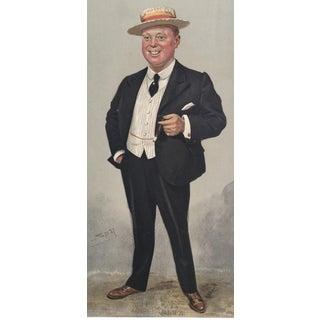 1905 Vanity Fair Theatre Print of Leo Trevor