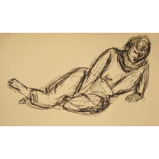 Relaxed Portrait, Circa Early 20th Century For Sale