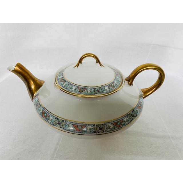 Antique White Antique 1920s Pope-Gosser Tea Pot For Sale - Image 8 of 8