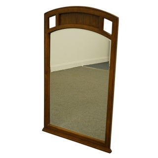 Stanley Furniture Campaign Style Dresser / Wall Mirror For Sale