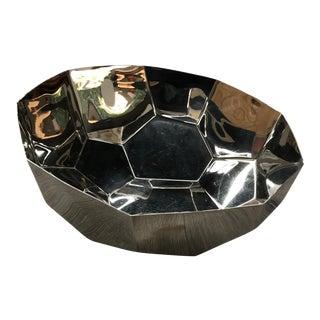 Alessi Chrome Cut - Cubed Bowl