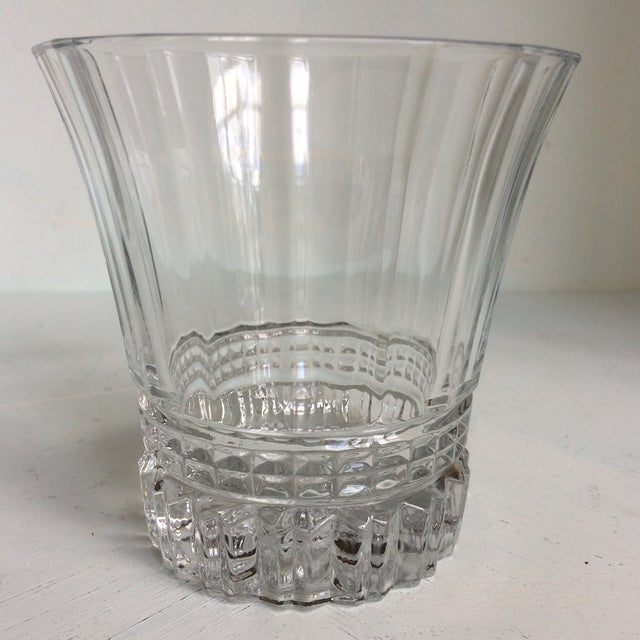 1990s Cristal d'Arques-Durand Victoria Double Old Fashion Glasses - Set of 6 For Sale - Image 5 of 13