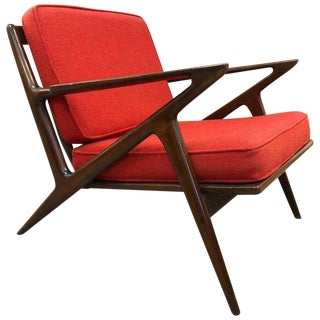 Poul Jensen Z Lounge Chair for Selig For Sale