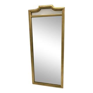 Hollywood Regency Gold-Frame Mirror For Sale