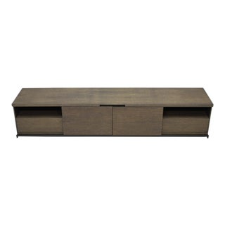 Contemporary Maxalto Mida Grey Oak Sideboard For Sale