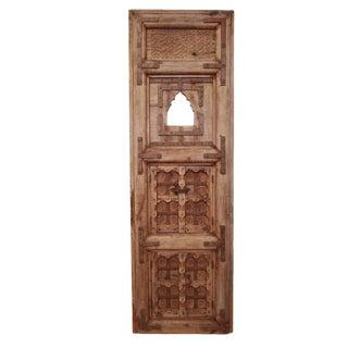 Antique Delhi Door With Mirrors For Sale
