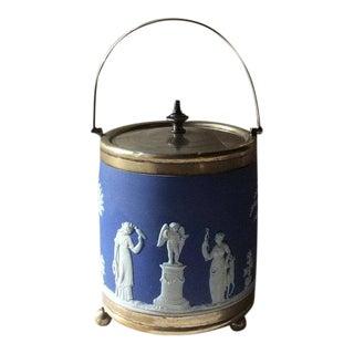 Antique Wedgewood Japerware Ice Bucket For Sale