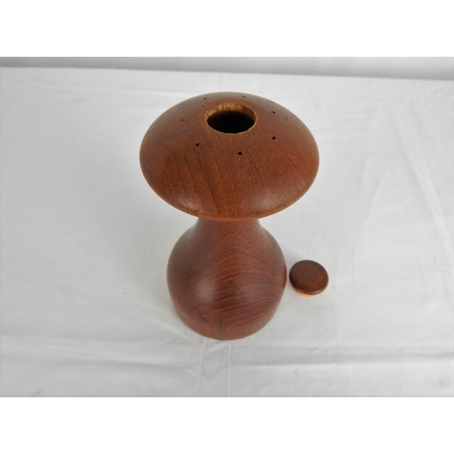 Brown Jens Quistgaard for Dansk Peppermill For Sale - Image 8 of 10