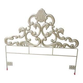 1960s Hollywood Regency Queen Headboard For Sale