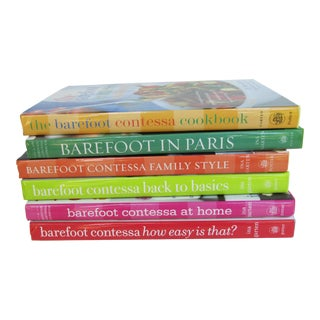 The Barefoot Contessa Cookbooks-6 Pieces For Sale