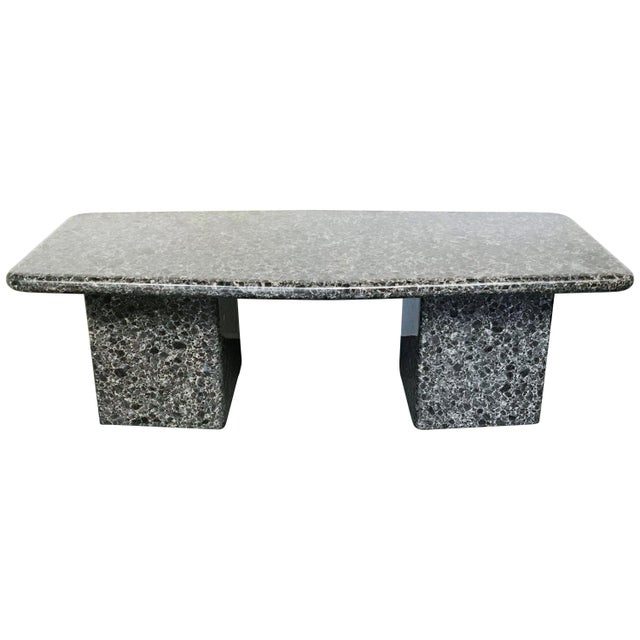 Mid-Century Granite Coffee Table For Sale - Image 11 of 11