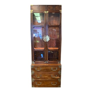 Henredon Lighted China Cabinet For Sale