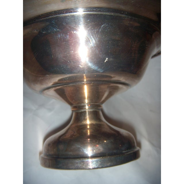 Silver-Plate Pedestal Bowl - Image 9 of 9