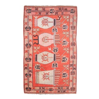 Khotan Pictorial Rug For Sale