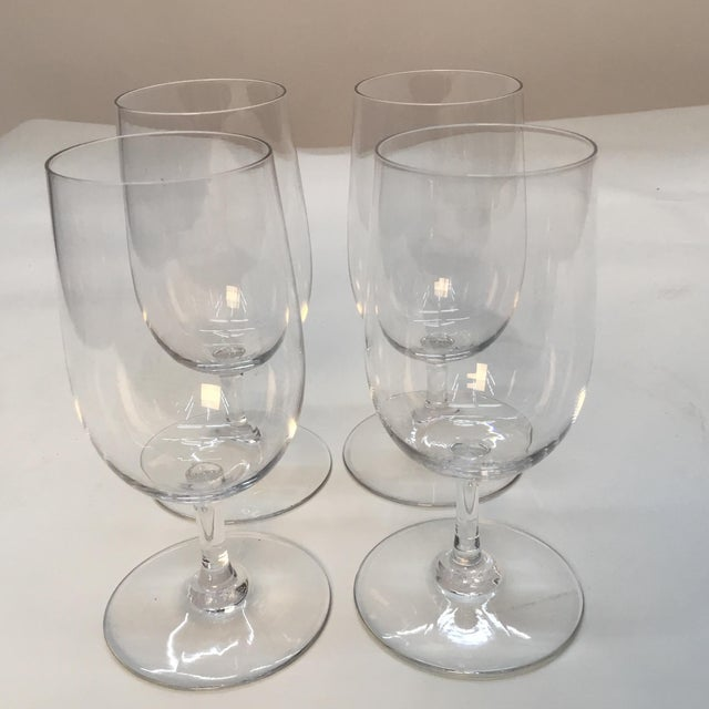 1990s Baccarat France Wine Glasses - Set of 4 For Sale - Image 5 of 7