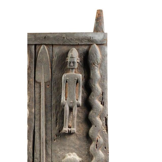 Monumental Hardwood African Granary Door - Image 2 of 9