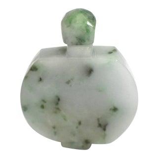 Late 20th Century Jadeite Jade Snuff Bottle For Sale