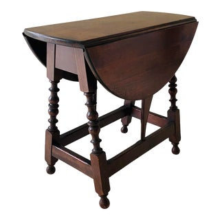 19th Century Drop Leaf Table For Sale