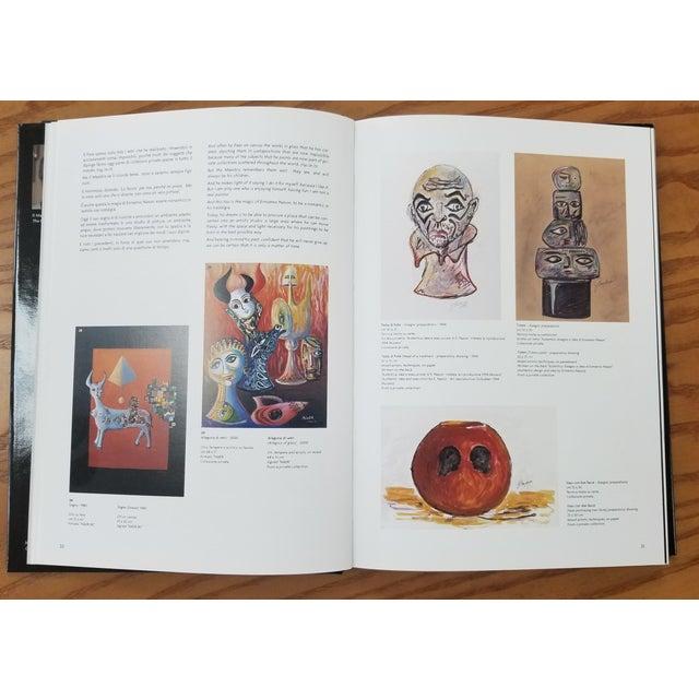 Paper 1960s Vintage Ermanno Nason Original Sculpture of a Totem Preparatory Drawing For Sale - Image 7 of 8