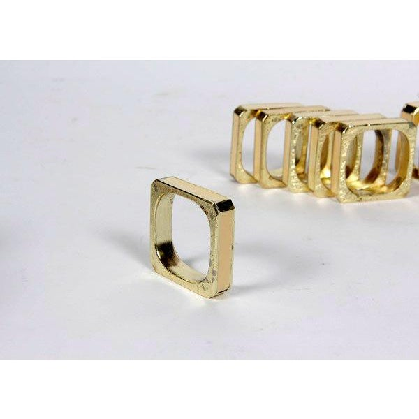 Bucklers 5th Ave Napkin Rings- Set of 12 For Sale In Los Angeles - Image 6 of 7