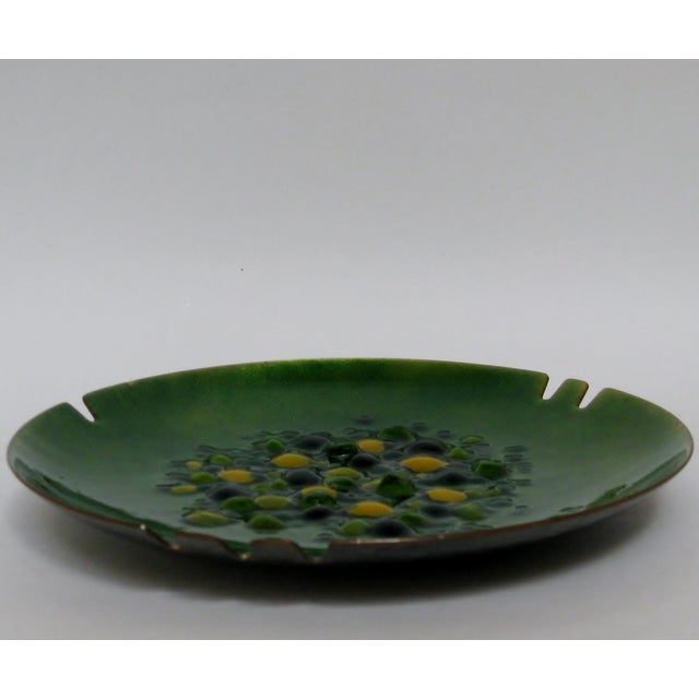 Copper Enamel Ashtray - Image 5 of 7