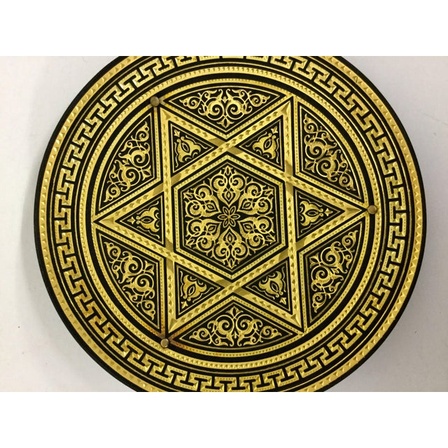 Hand Carved Judicial Mini Tray For Sale - Image 10 of 11