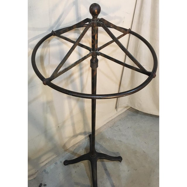 Circular Revolving Clothing Rack For Sale - Image 9 of 11